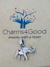 Lucky Elephant Charm - Donation to African Wildlife Foundation