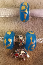 Ocean Breeze Glass Bead