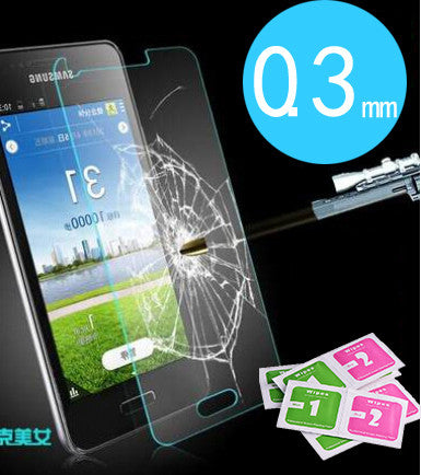2.5D  plane Anti-explosion For samsung galaxy A 3 5 7 8 NOTE S 3 4 5 6 Tempered Glass Screen Protector For samsung free shipping