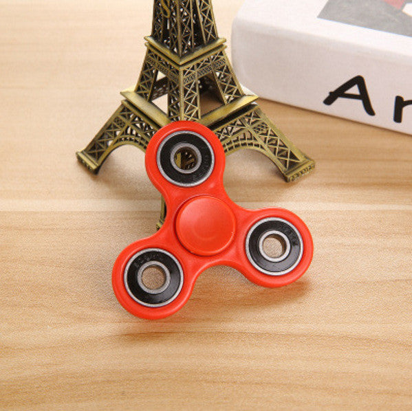 Tri-Spinner Fidget Toy Plastic EDC Fidget Spinner for Autism and ADHD Kids/Adult Anti Stress Hand Spinner Toys Finger Spinner