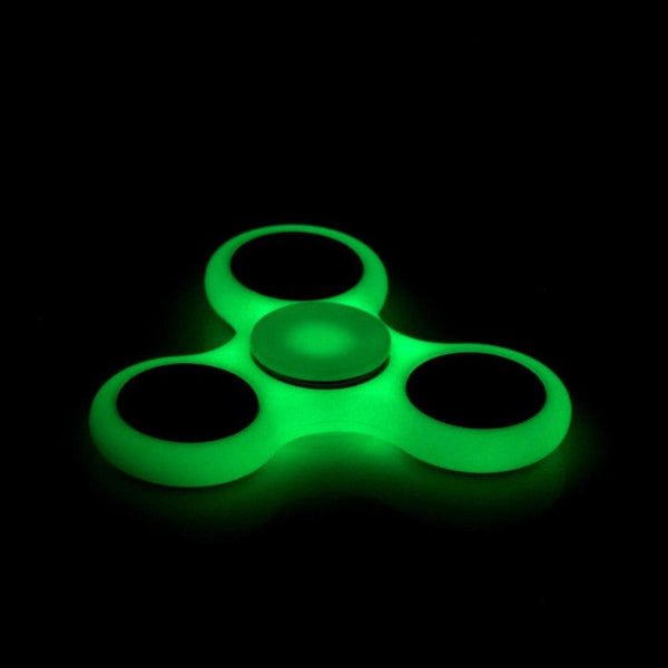 White/Black Tri-Spinner Fidget Toy Plastic EDC Hand Spinner For Autism and ADHD Rotation Time Long Anti Stress Toys 15 Styles