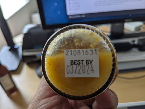 Best by date on hot sauce
