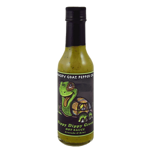 Angry Goat Hippy Dippy Green Hot Sauce