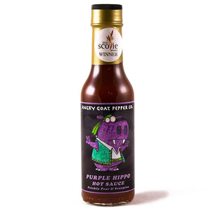 Angry Goat Purple Hippo Hot Sauce
