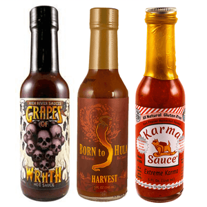 Autumn Hot Sauce Combo Pack