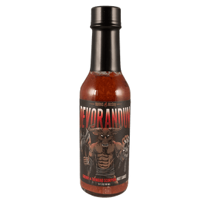 Burns & McCoy Devorandum Cherry & Trinidad Scorpion Hot Sauce