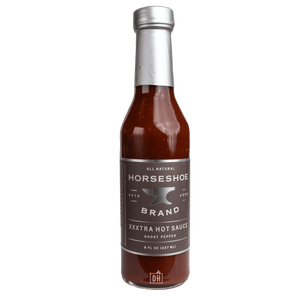Horseshoe Brand XXXtra Hot Sauce