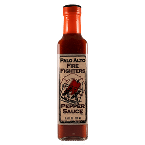 Palo Alto Fire Fighters Habanero Hot Sauce