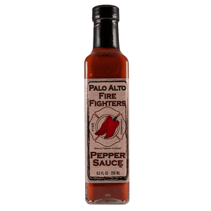 Palo Alto Fire Fighters Jalapeño Hot Sauce