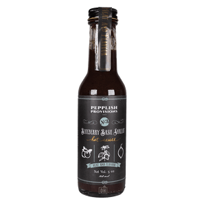 Pepplish Provisions Blueberry Basil Shallot Hot Sauce