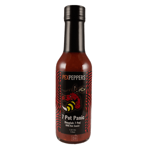 PexPeppers 7 Pot Panic Hot Sauce