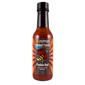 PexPeppers Pueblo Red Hot Sauce