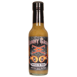 Danny Cash Bottled Up Anger Garlic Serrano Hot Sauce