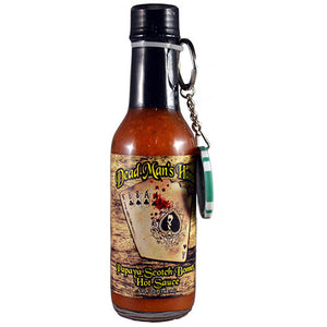 Dead Man's Hand Papaya Scotch Bonnet hot sauce