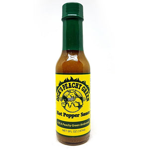 Dirty Dick's Peachy Green Hot Sauce