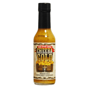 High River Cheeba Gold Hot Sauce