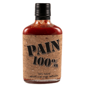 Pain is Good Pain 100% Hot Sauce