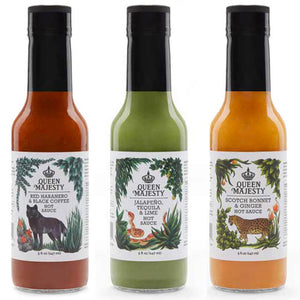Queen Majesty Hot Sauce Combo Pack