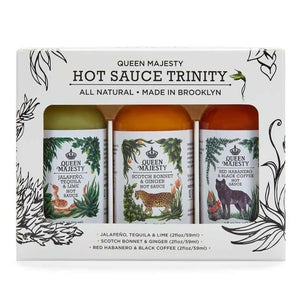 Queen Majesty Hot Sauce Trinity Sampler