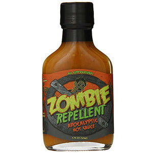 Zombie Repellent Apocalyptic Hot Sauce
