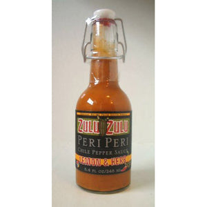 Zulu Zulu Lemon & Herb Peri Peri Chili Pepper Sauce