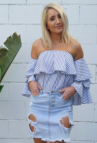 Spencers Stripe Top