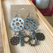 Load image into Gallery viewer, Steam Punk Style Earrings