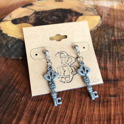 The Key to Your Heart Earrings