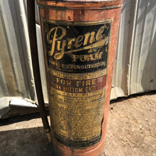 Load image into Gallery viewer, Brass Pyrene Fire Extinguisher
