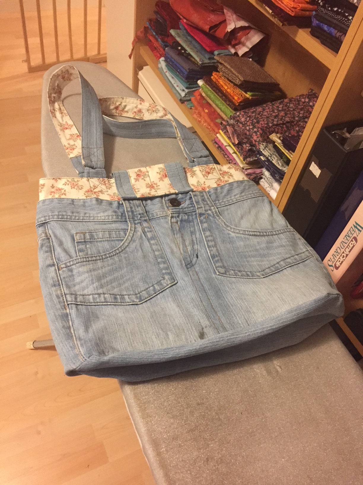 Re-Purposed Demin Bag