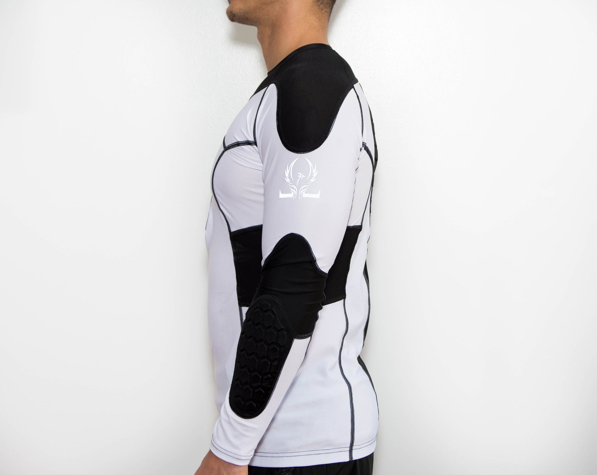 Padded Compression Shirt - Adult - Oronin Wear Martial Arts Athletic Apparel and Supplies