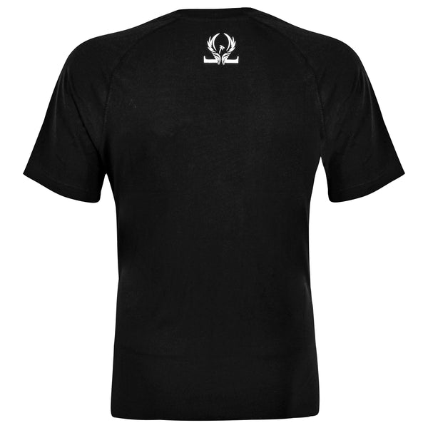 Classic Short-Sleeve T-Shirt - Black - Oronin Wear Martial Arts Athletic Apparel and Supplies