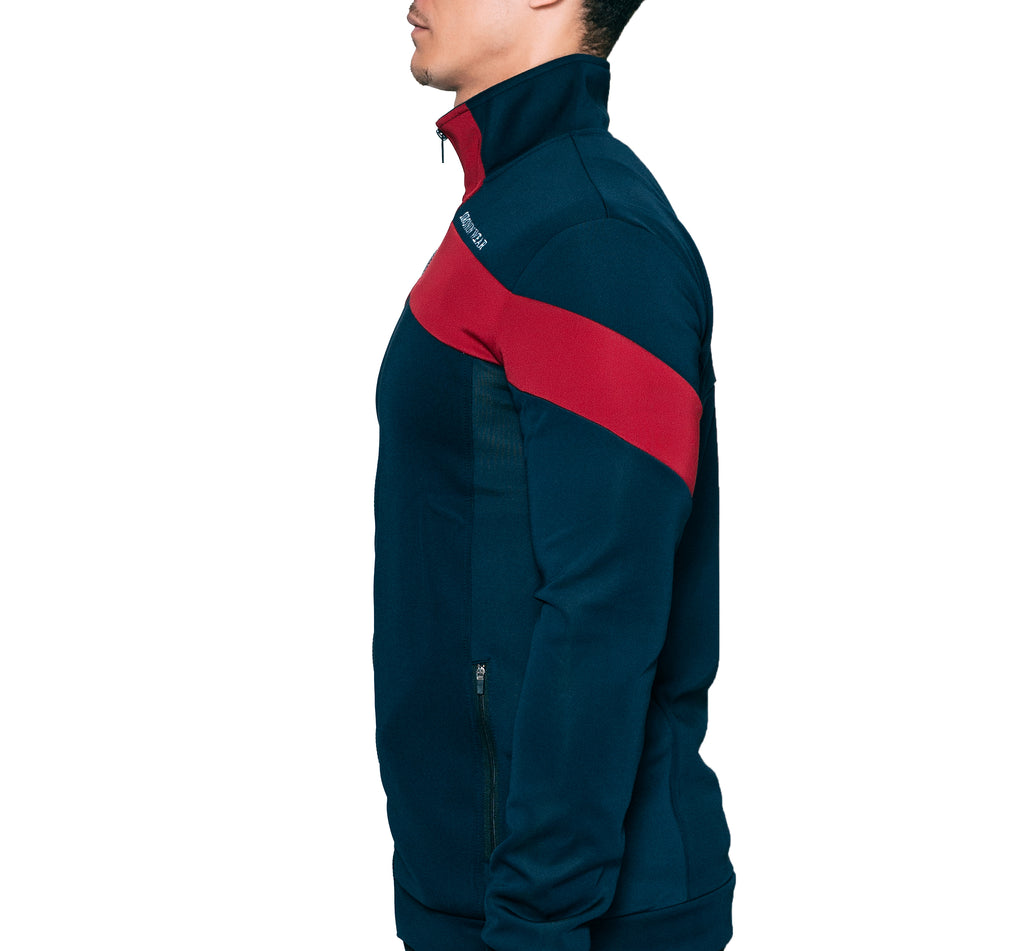 Martial Arts Training Jacket - Navy Blue - Oronin Wear Martial Arts Athletic Apparel and Supplies