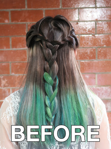 When green hair isn't getting you enough attention, add a Zigzag.