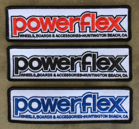Powerflex OG Embroidered Logo Patch 6.25