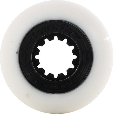 52mm Black Gumball Core, White Wheel 83B
