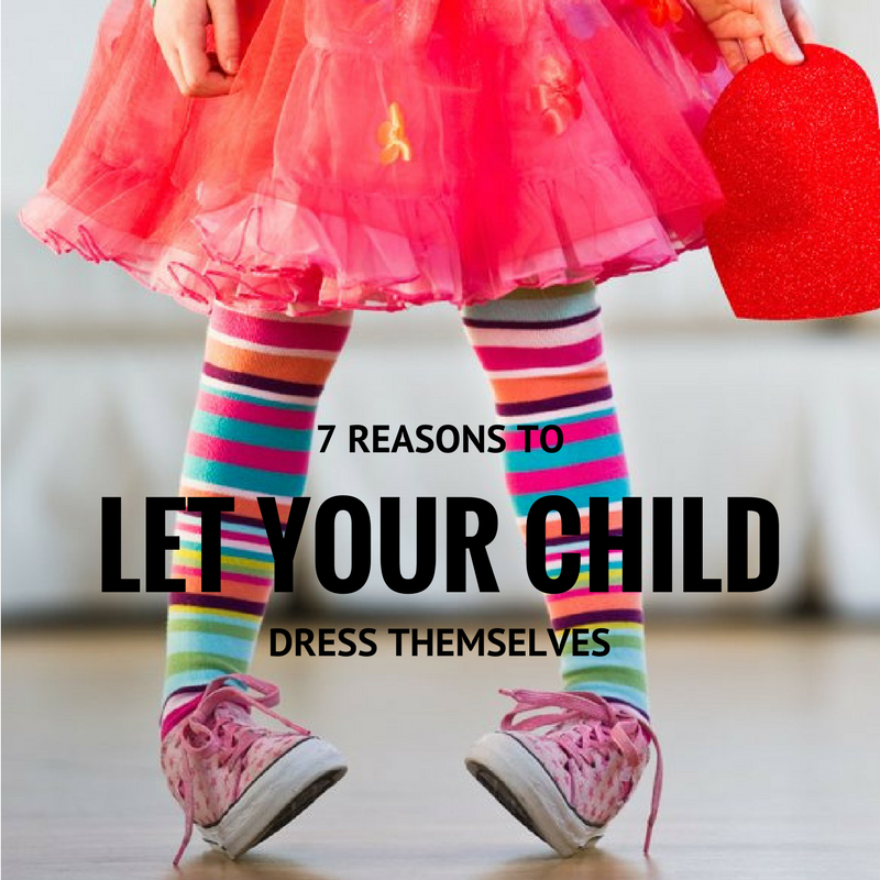 7 Reasons to Let Your Child Choose Their Own Clothes