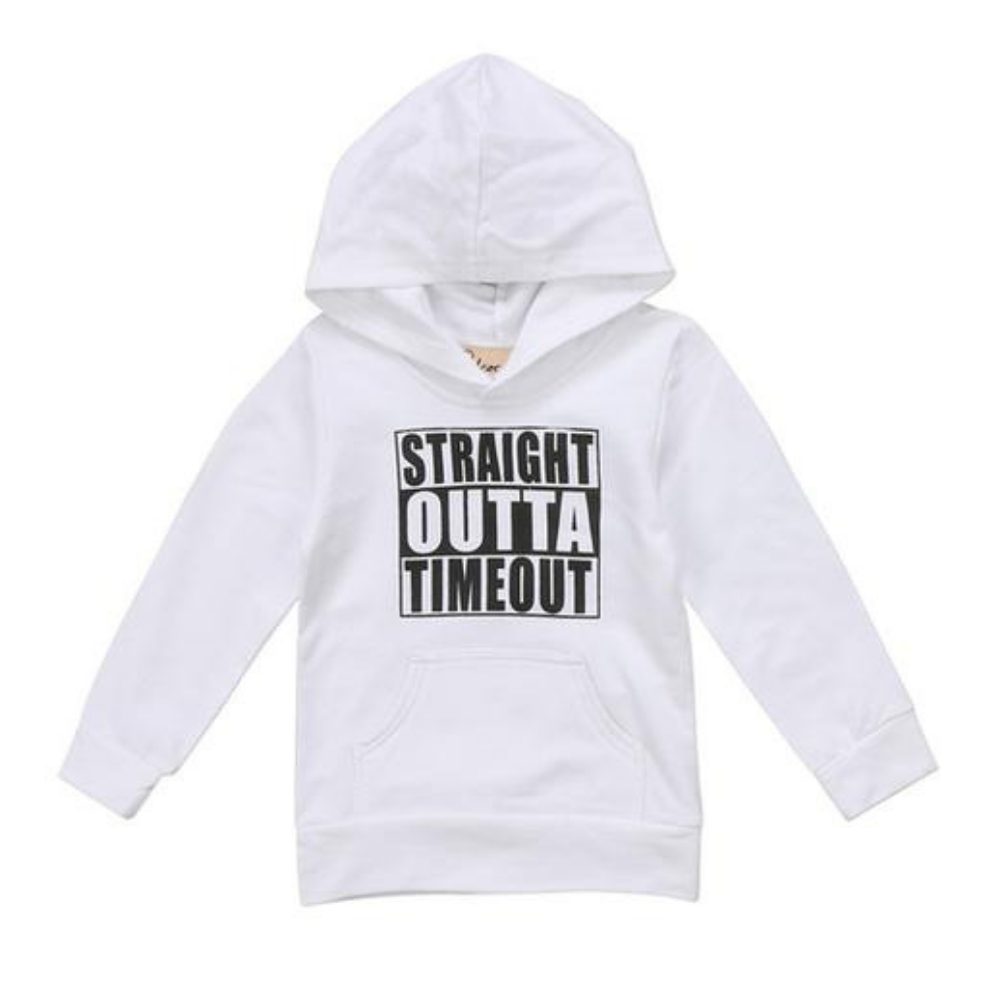 Straight Outta Timeout Hoodie - Two Colors