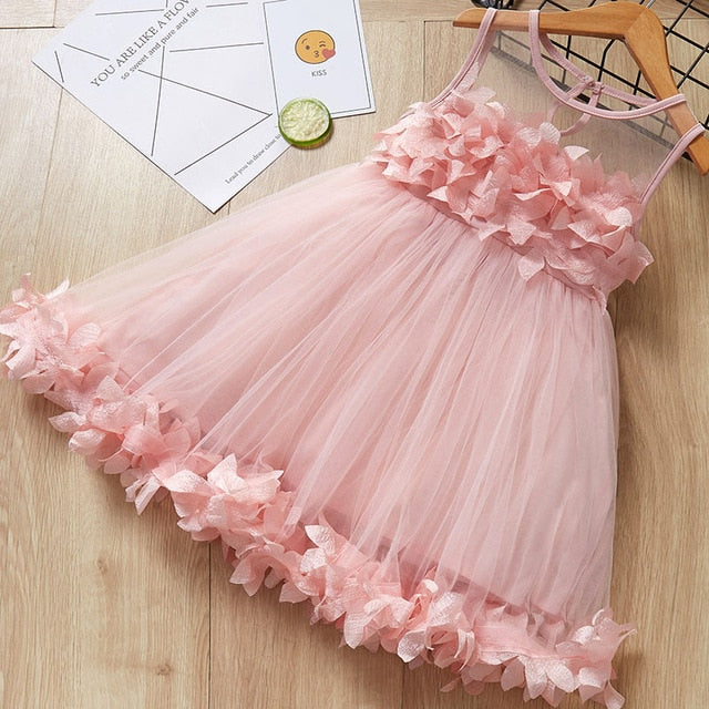 Oopsy Daisy Pink Ruffle Dress