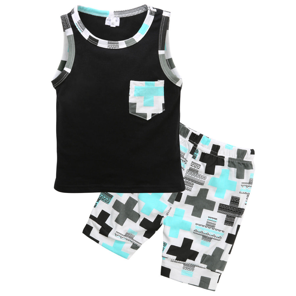 Hipster Cross Tank 2PC Set