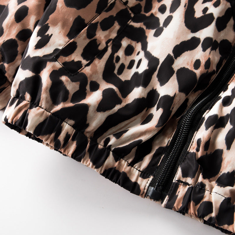 Leopard Softshell Jacket