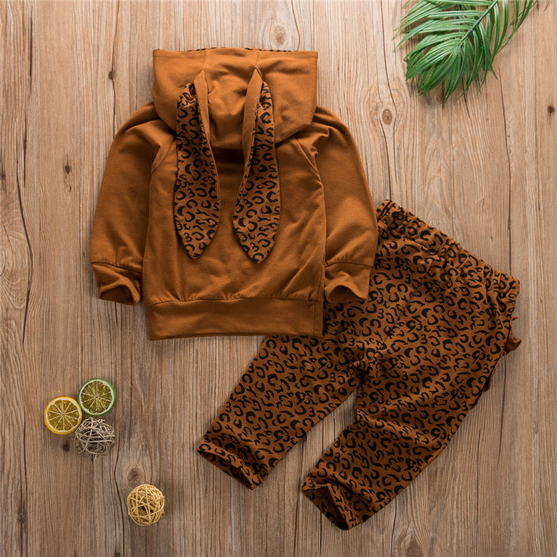 Leopard Snuggle Bunny Outfit