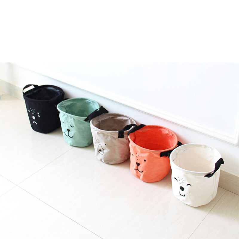 Canvas Animal Storage Totes
