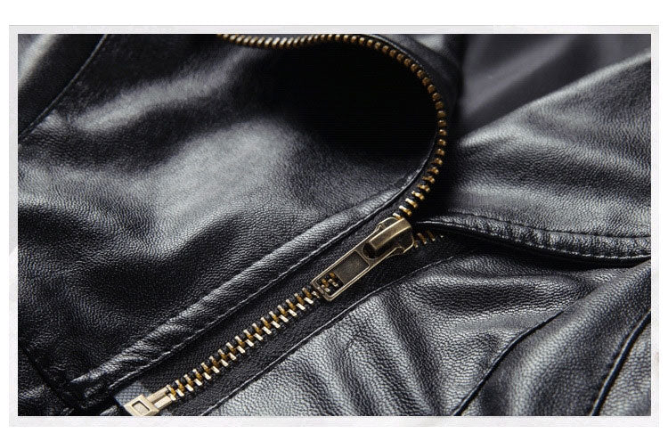 Belle Faux Leather Jacket