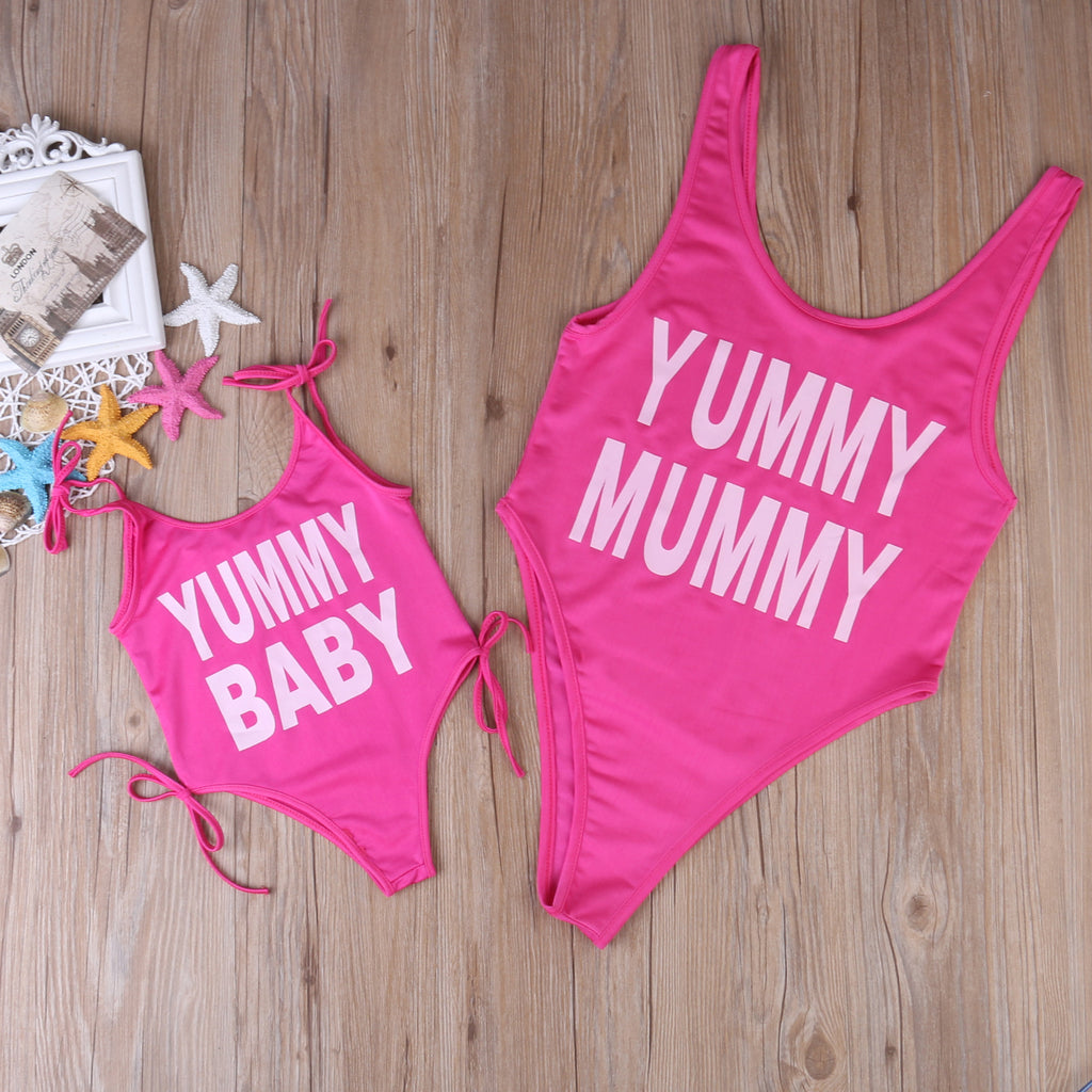 Yummy Mummy & Baby Matching Swim Suit