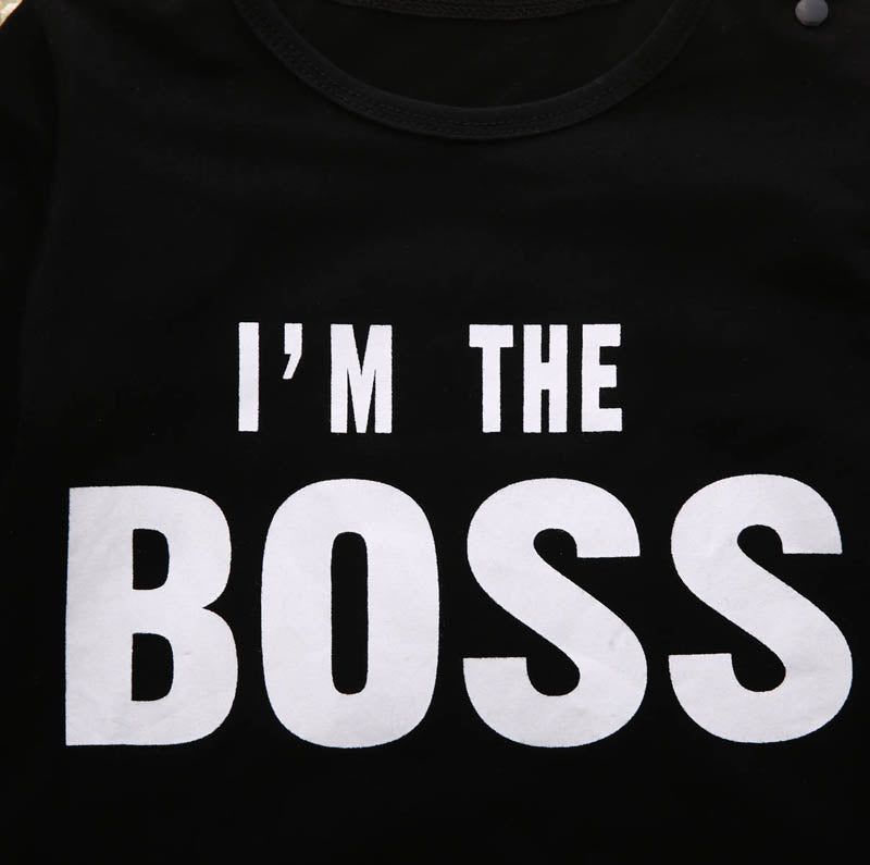 Im The Boss Romper