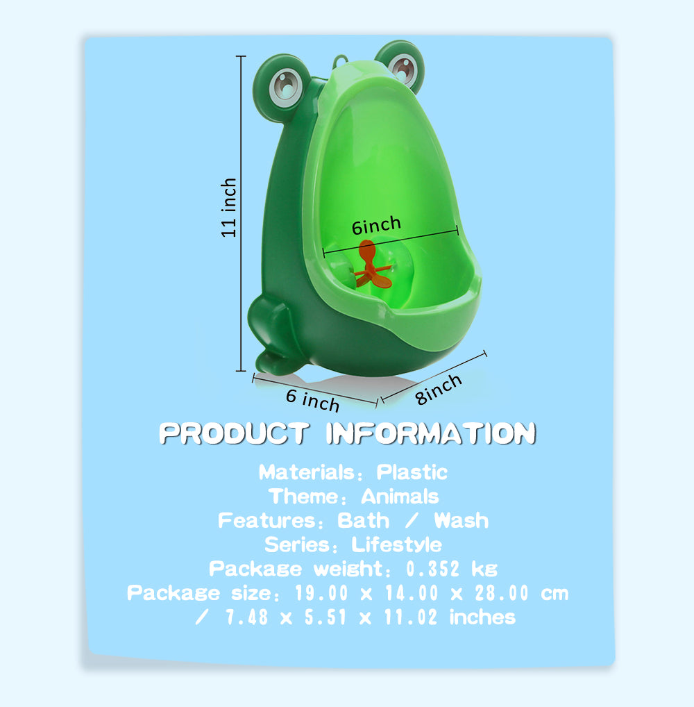 EASYGO Wall Mounted Frog Urinal Potty