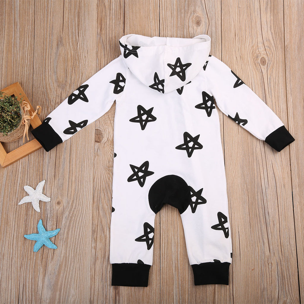 Rocking Baby Hooded Jumpsuit