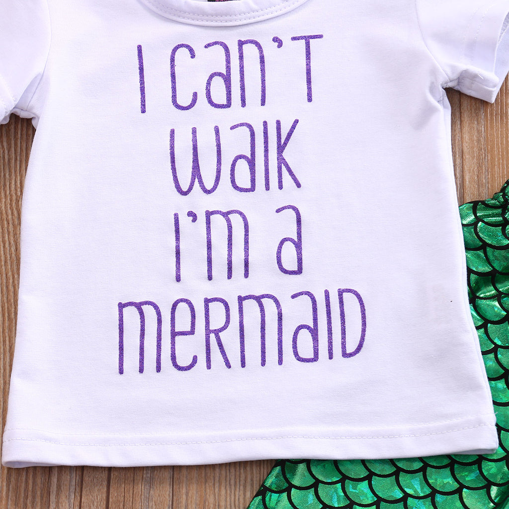 I'm A Mermaid Outfit