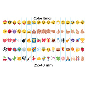 Cinema Light Box 85 Clear Emoji Slides